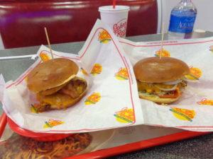 Nossos hambúrgueres deliciosos