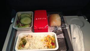 Janta servida na Delta (não tiramos foto, pegamos uma imagem parecida na internet)