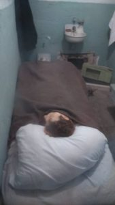 Cela da famosa fuga de Alcatraz