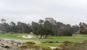 Campo de golfe na 17 Mile Drive