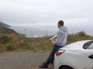 Momento lanche da tarde na Big Sur